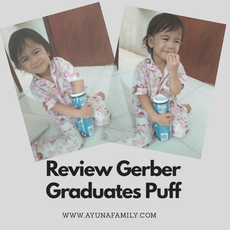 REVIEW GERBER GRADUATES PUFF