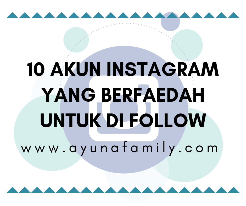 akun instagram - ayunafamily.com