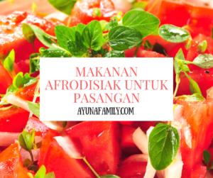 makanan afrodisiak