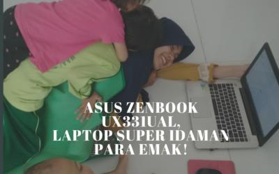 ASUS ZENBOOK UX331UAL, LAPTOP SUPER IDAMAN PARA EMAK!