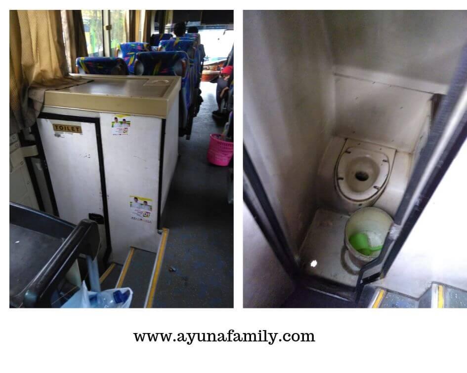 pengalaman naik bus malam sumber alam - ayunafamily.com