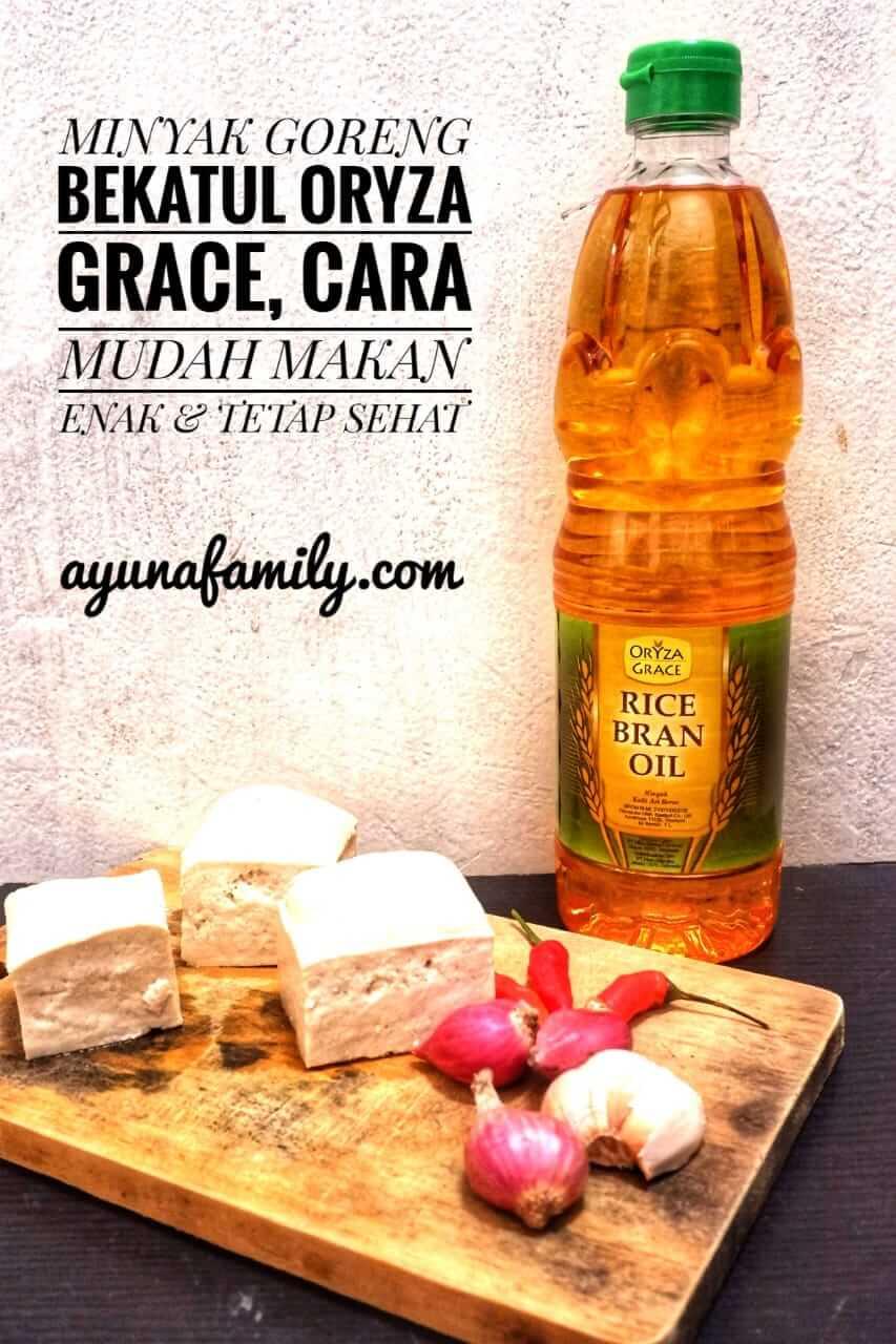 review oryza grace minyak goreng bekatul