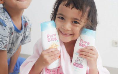 REVIEW PURE BABY, SABUN MANDI DENGAN KANDUNGAN ALAMI