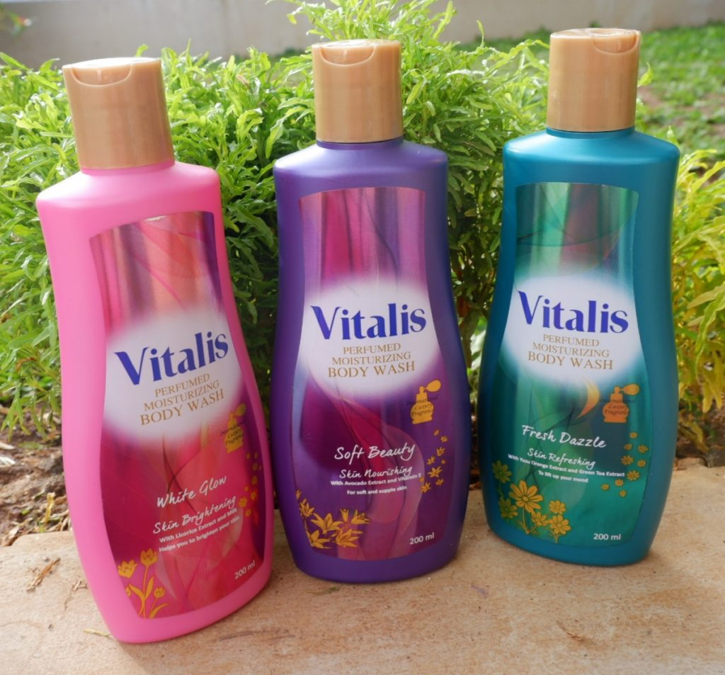 review vitalis body wash fresh dazzle