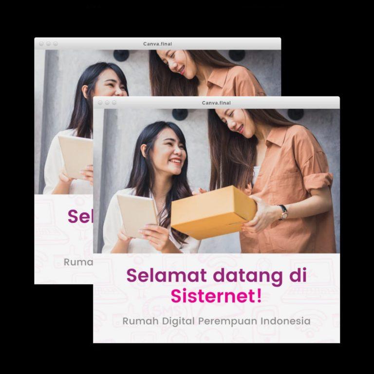 sisternet, aplikasi penuh gizi untuk perempuan