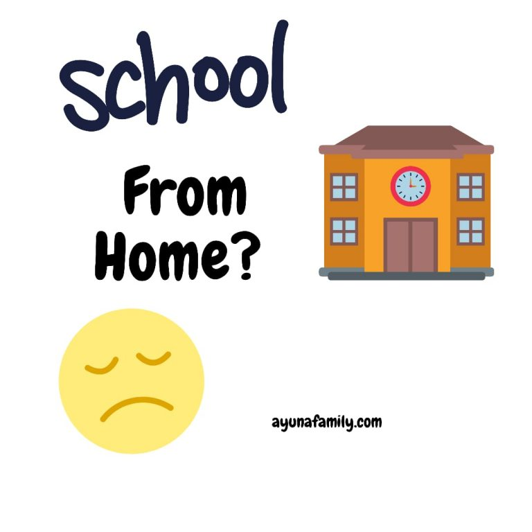 drama sekolah di rumah