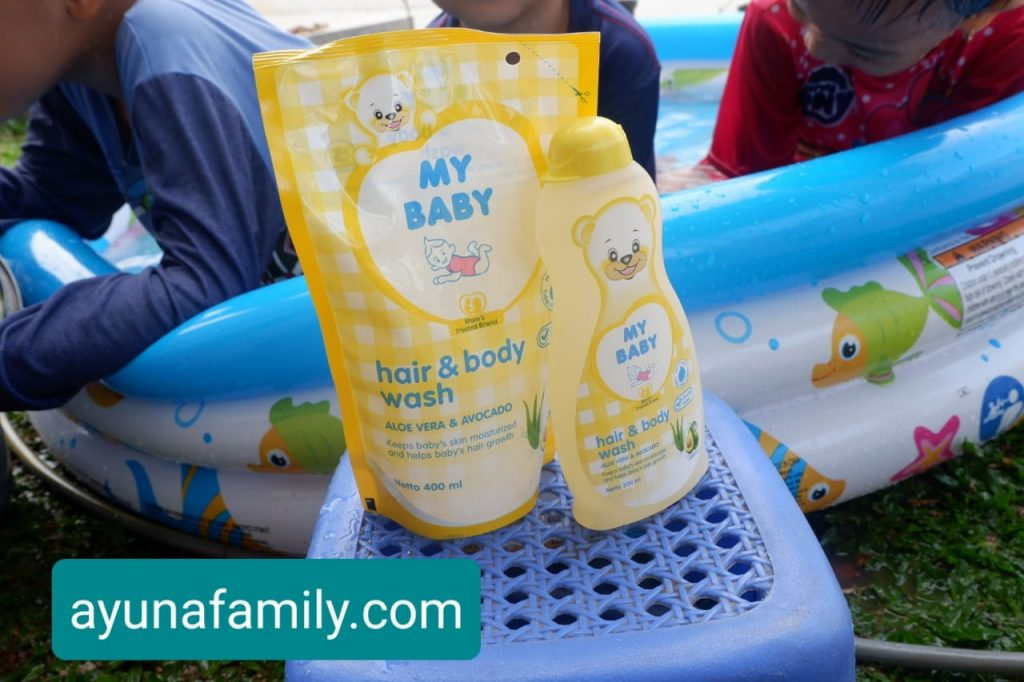 review my baby hair & shampoo
