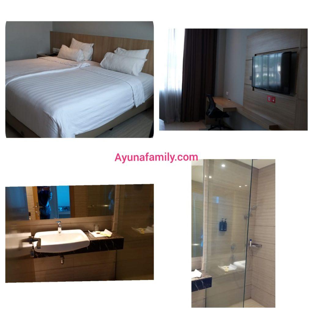 Kamar di Grand Tjokro Hotel Bandung