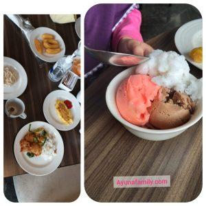 Menu Sarapan di Grand Tjokro Hotel Bandung
