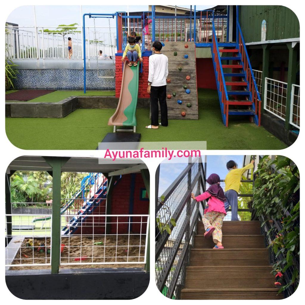 playground lantai 10 Grand Tjokro Hotel Bandung
