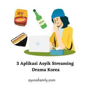 3 Aplikasi Streaming Drama Korea