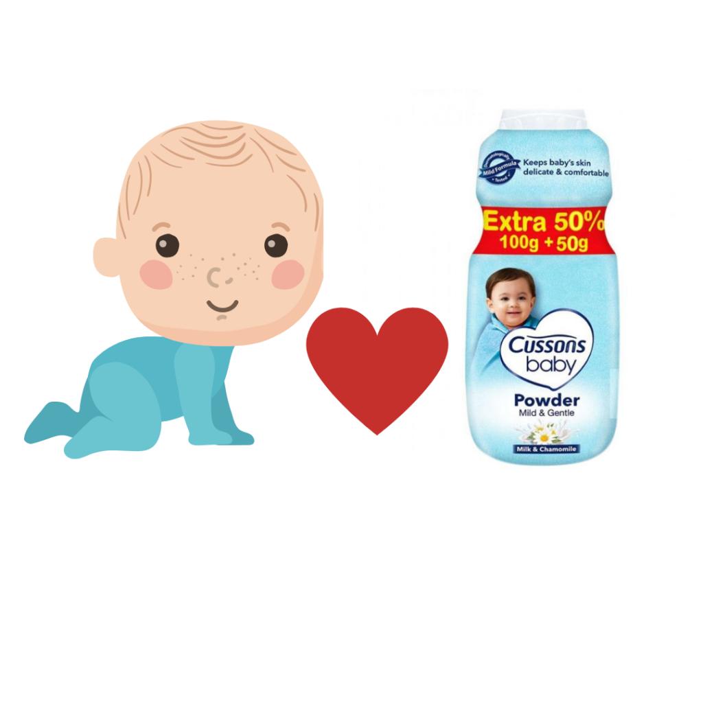 Bayi dan Cussons Baby Powder