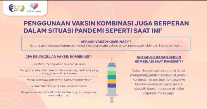 pengertian dan manfaat vaksin kombinasi