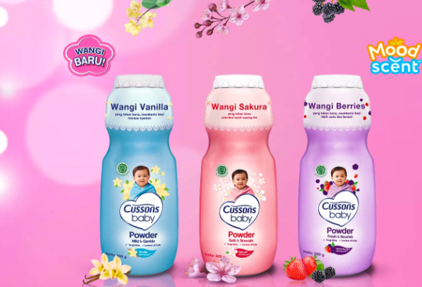 Cussons Baby Powder Moodscent