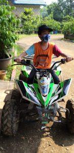 ATV di telaga pelangi payang