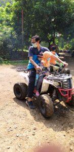 ATV di Telaga Pelangi