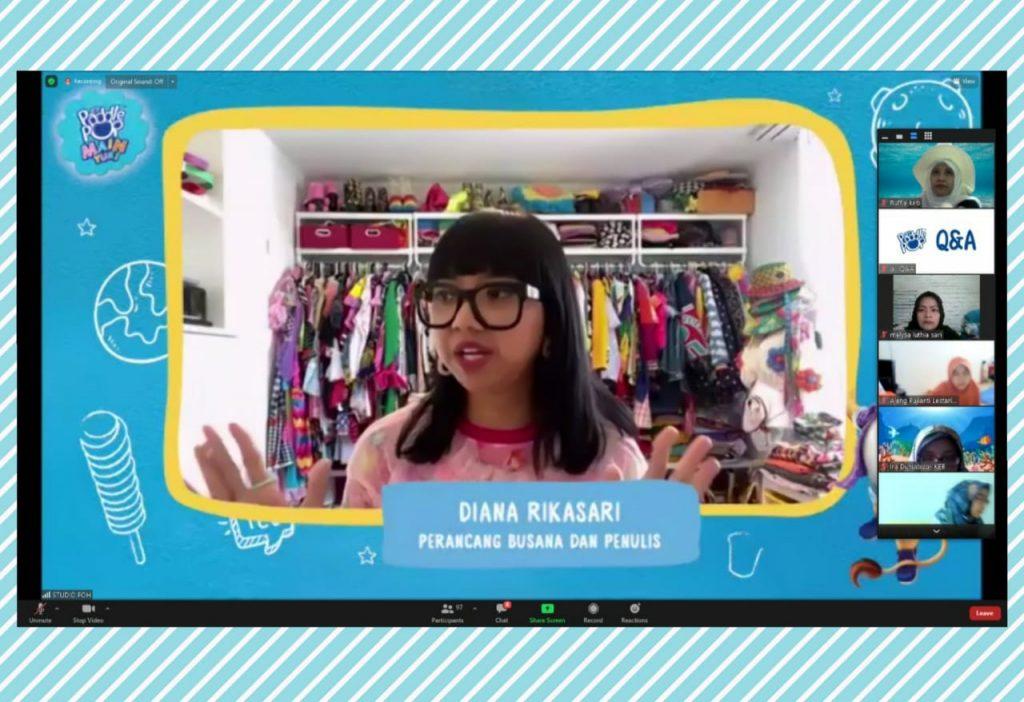 Diana Rikasari untuk Paddle Pop