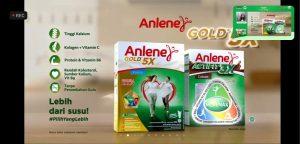 Anlene actifit 3x dan anlene gold 5x